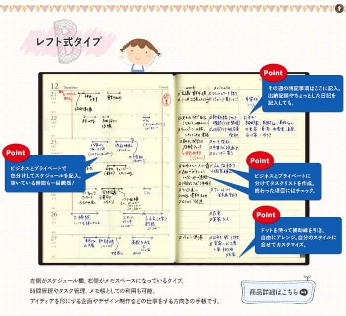 ニコパポータル 手帳 レフト式
