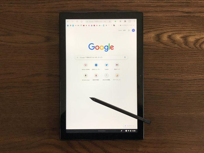 ASUS Chromebook Detachable CM3 タッチ&ペンスタイル